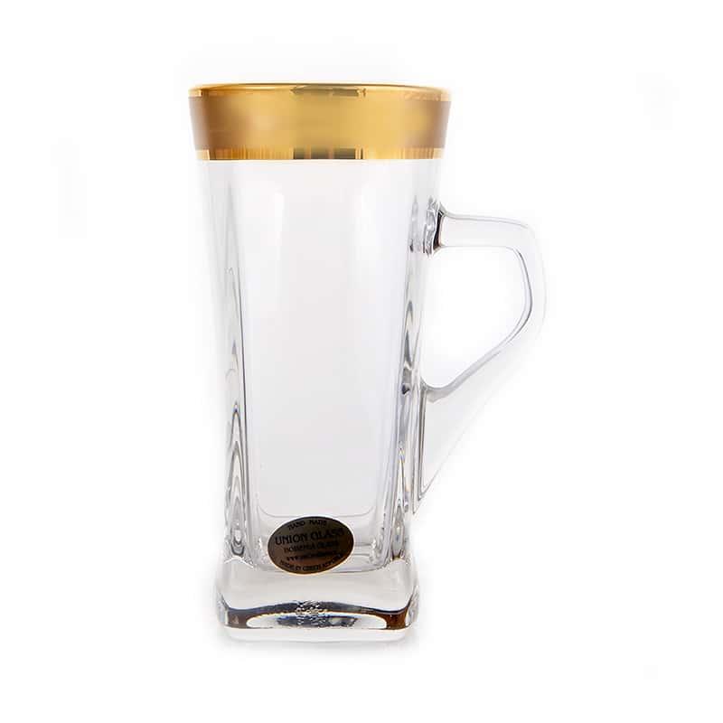 Голд Набор для чая Union Glass 330 мл 6 перс.