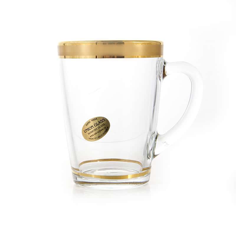 Голд Набор для чая Union Glass 320 мл 6 перс.