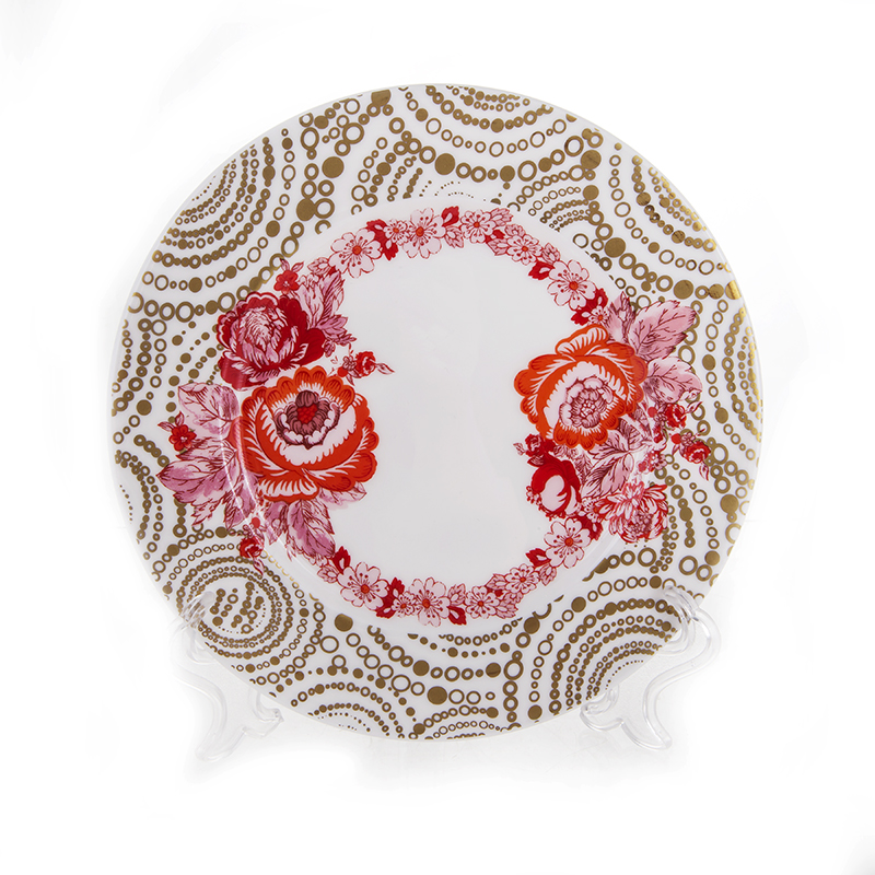 Голден Розес Набор десертных тарелок Blumarine 17 см.