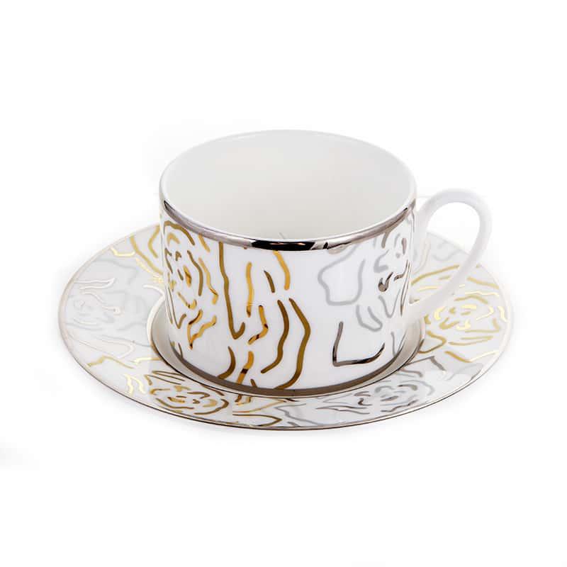 Платинум Набор для чая Blumarine 220 мл 12 пред.