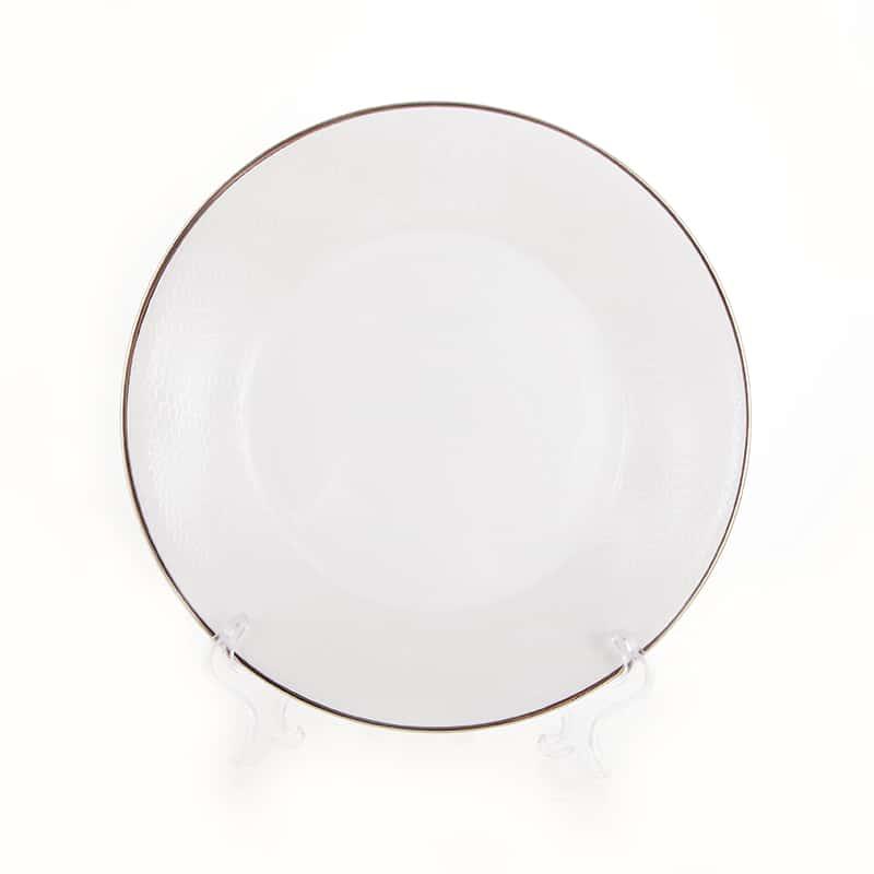 Лиззард Платин Набор глубоких тарелок Roberto Cavalli 22 см