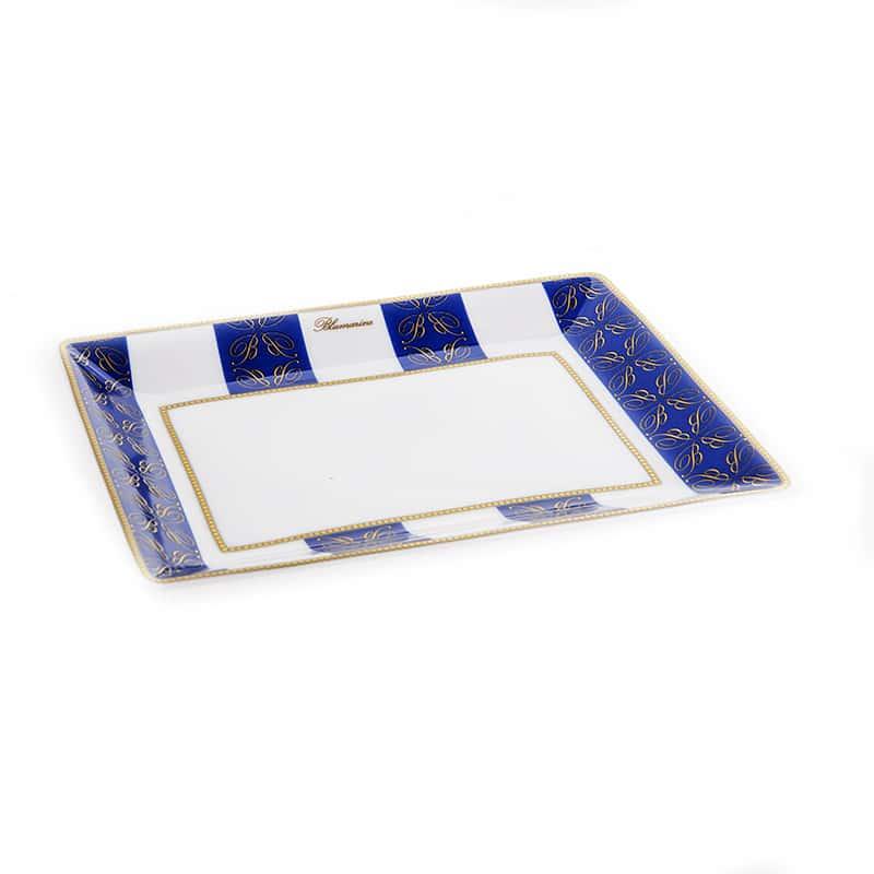 Блу Рояль Блюдо квадратное Blumarine 15х11 см