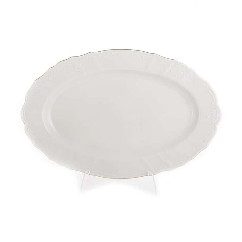 Бернадотт Ивори 311011 Блюдо овальное 36 см