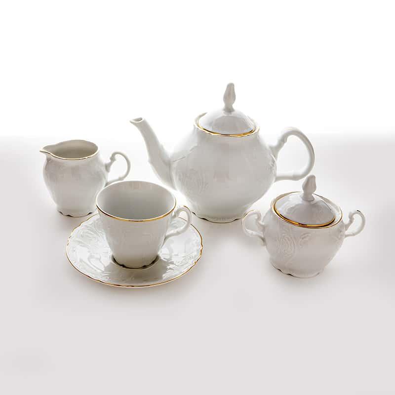 Бернадотт Ивори 311011 Сервиз чайный на 6 перс. 15 пред.