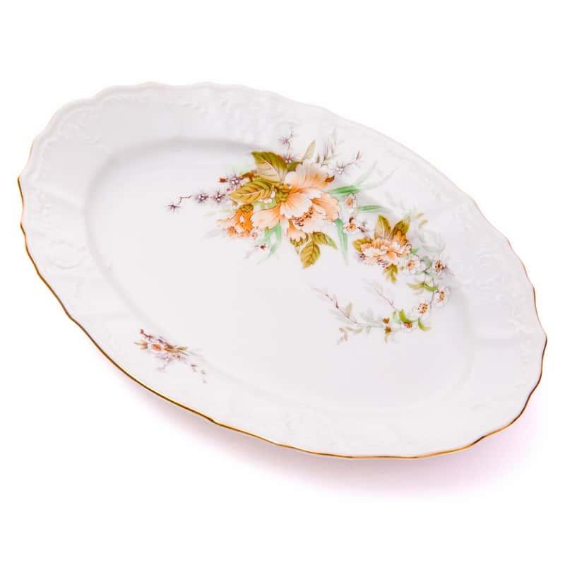 Бернадот Дикий лопух 23011 Блюдо овальное 24 см 38431