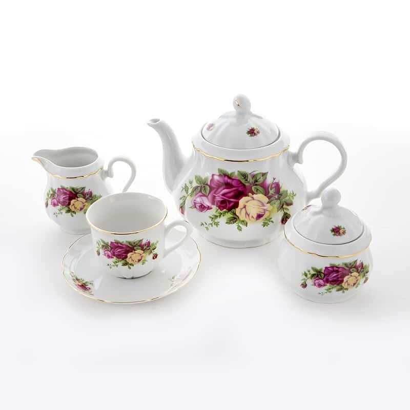 Роза 8105100 Сервиз чайный Thun на 6 перс. 15 пред
