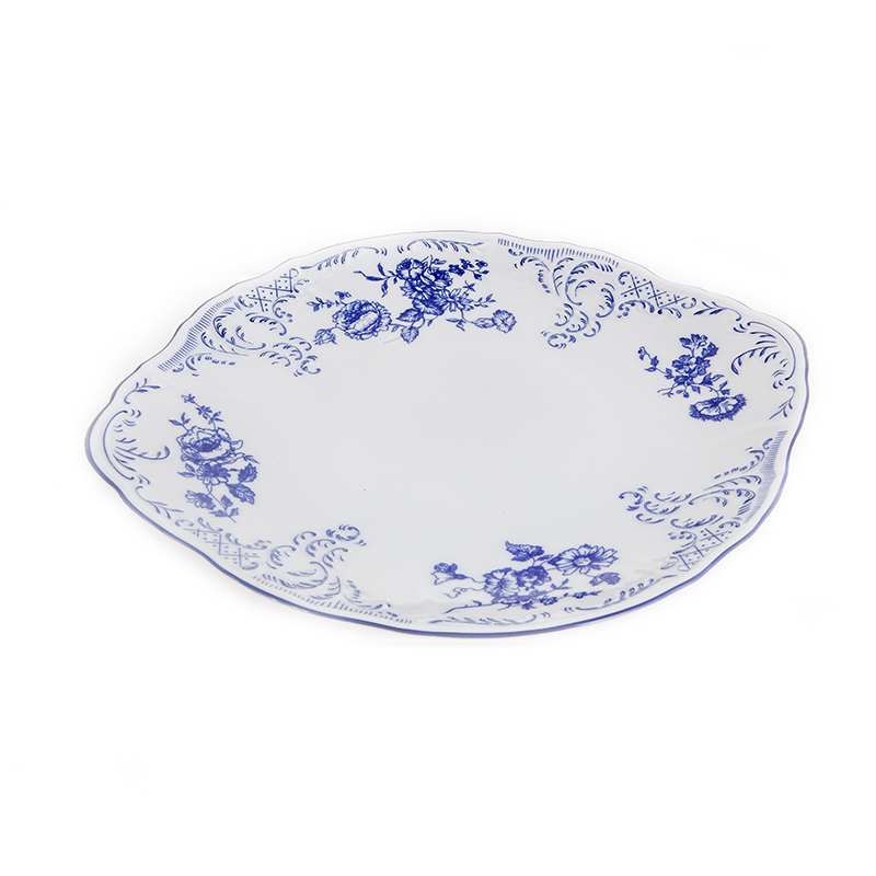 Бернадотт Синий 24074 Блюдо десертное 27 см