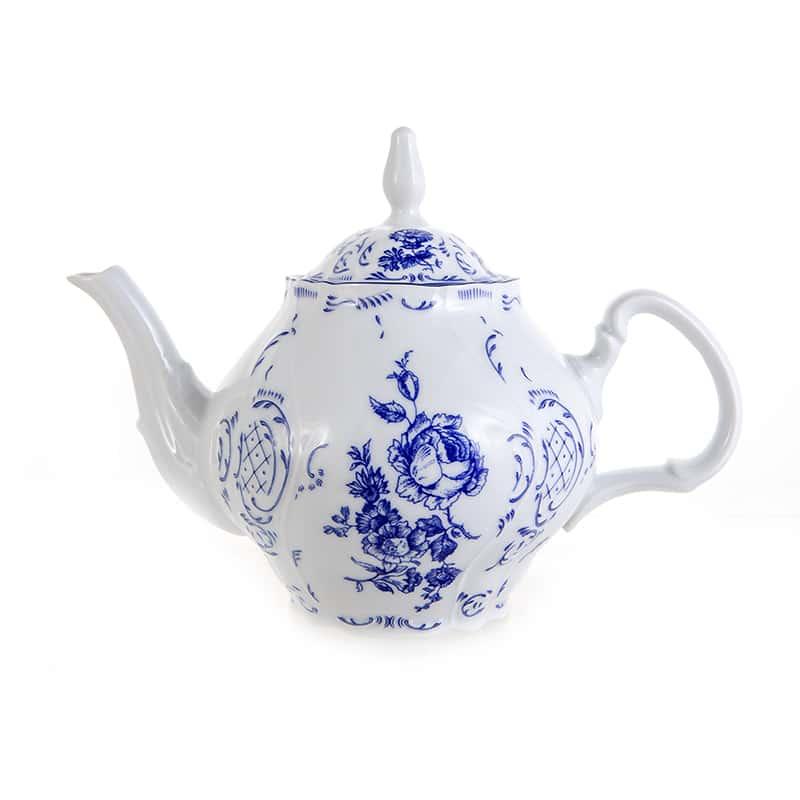 Бернадотт Синий (Гжель) 24074 Чайник 1,2 л