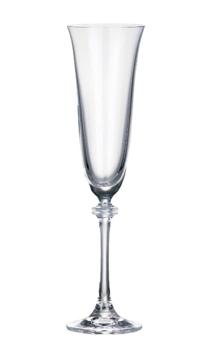 Александра Набор фужеров для шампанского Crystalite Bohemia 190 мл. 6 шт.