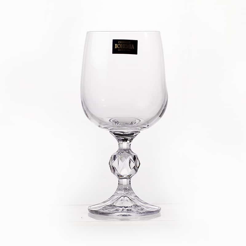 STERNA Клаудиа Недекор Набор бокалов для вина Crystalite Bohemia 230 мл 25118