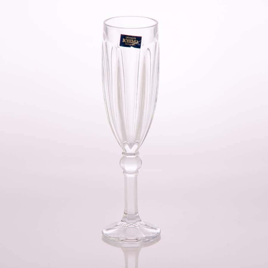 Робин Набор фужеров для шампанского Crystalite 160 мл