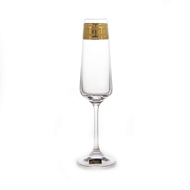 Наоми 375651 Набор бокалов для шампанского Crystalite 160 мл