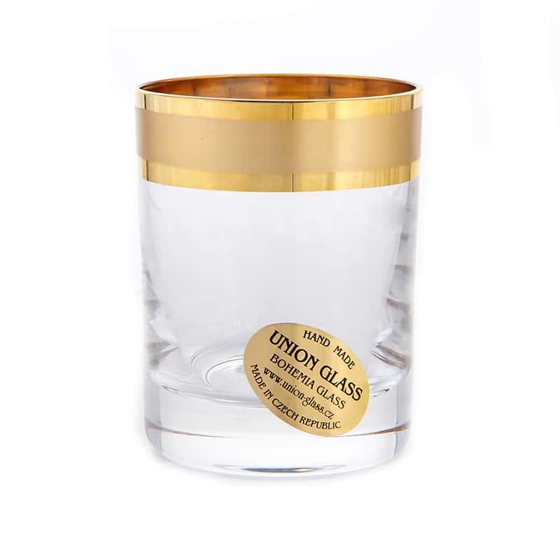 Ангелика Голд Набор стопок для водки Union Glass 60 мл 6 шт.