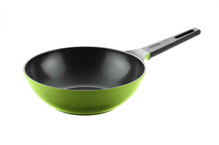Rainbow Сковорода вок Frybest 34 см (Зеленый)