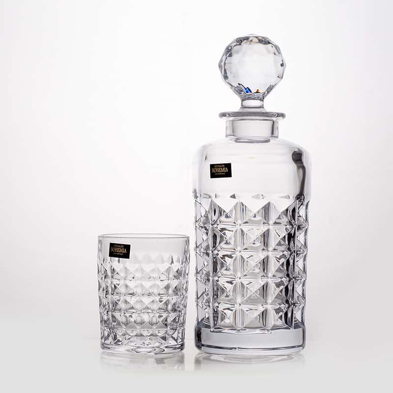 Диамонд Набор для виски на 6 перс. Crystalite Bohemia