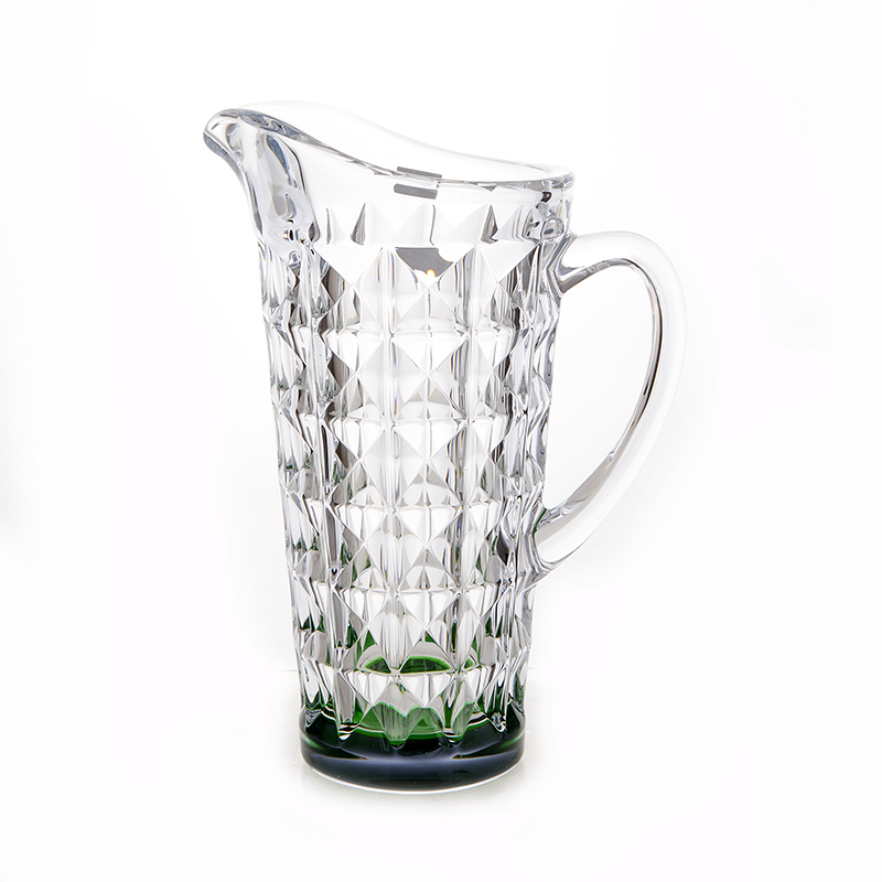 Диамонд зеленый Кувшин 1,25 л Crystalite Bohemia