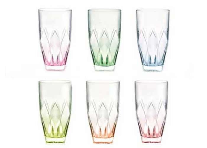 NINPHEA RCR TRENDS Набор стаканов высоких цветные