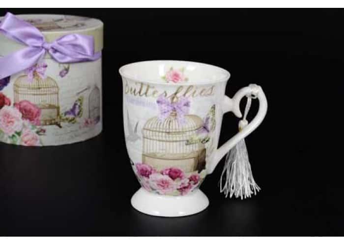 Бабочки Кружка в подарочной упаковке Royal Classics