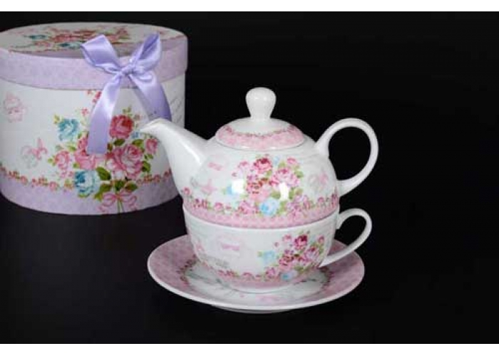 Forever Чашка с блюдцем и чайник в подарочной упаковке
