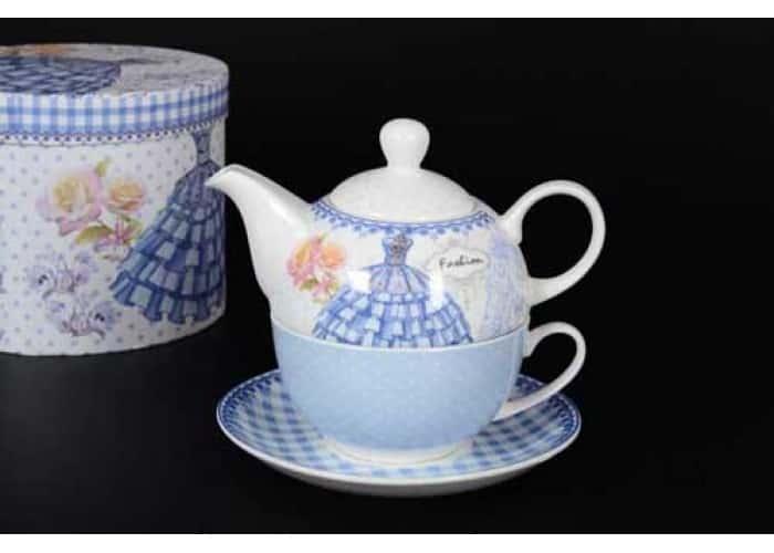 Fashion Чашка с блюдцем и чайник подарочные