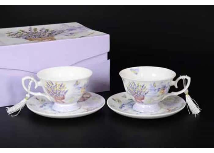 Lavender Набор чайных пар (2 пары)