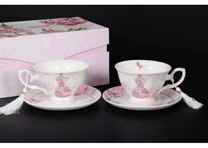 Classic Lady Набор чайных пар (2 пары)