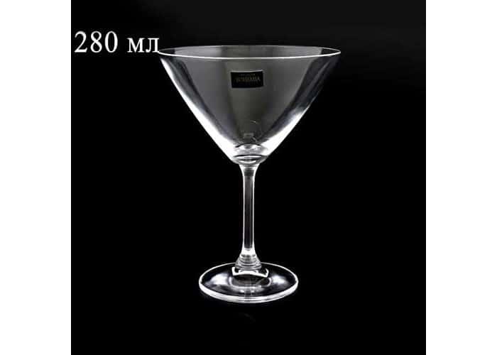 KLARA Фужер для мартини Crystalite Bohemia 280 мл