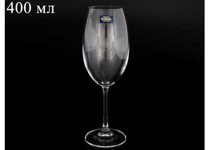 BARBARA Фужер для вина 400 мл Crystalite Bohemia