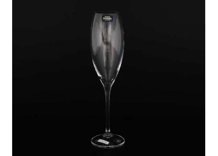 CECILIA Набор фужеров для шампанского Crystalite 290 мл (6 шт)
