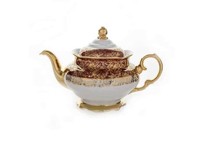 Лист красный Чайник заварочный Carlsbad