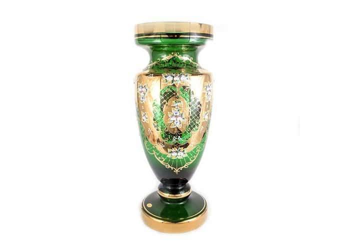 Лепка зеленая 8149 Ваза для цветов U. Glass 60 см.