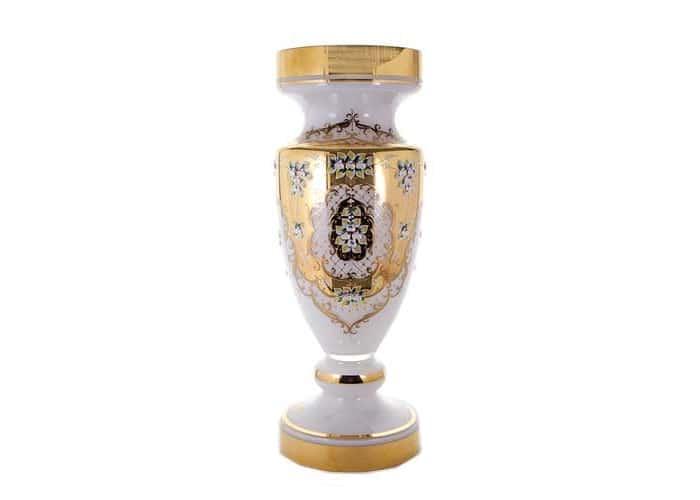 Лепка белая 8149 Ваза для цветов U. Glass 70 см.