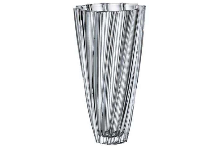 Скаллоп Ваза для цветов Crystalite 35,5 см.