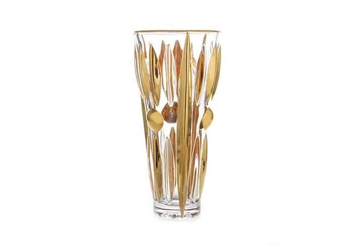 Плуто Блестящая 2 Ваза для цветов Union Glass 23 см
