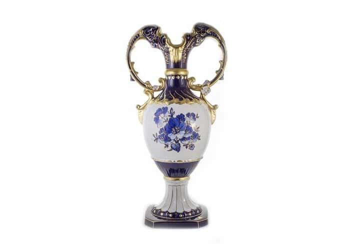 Люксор-Синий Ваза для цветов Dubi 63 см.