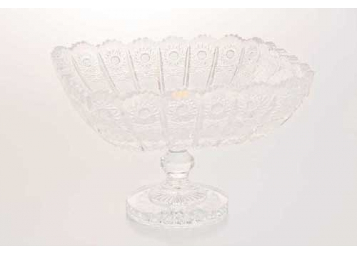 Хрусталь Ваза для фруктов н/н Glasspo 22 см.