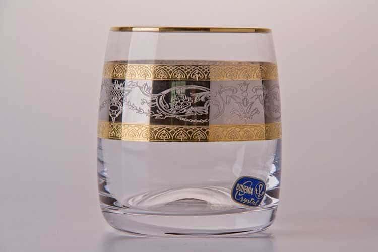 Лаура Набор стаканов для виски Bohemia Crystal 290 мл