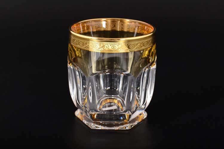 САФАРИ МЕДОВЫЙ Набор стаканов для виски Bohemia Gold 280 мл