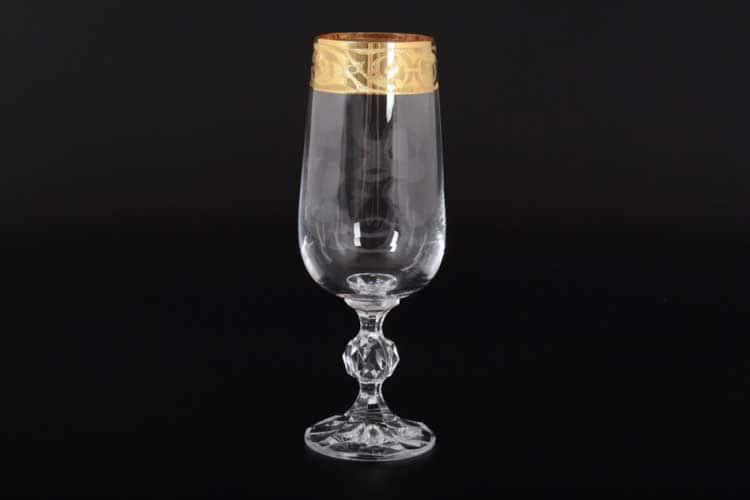 КЛАУДИЯ МАХАРАДЖИ Набор бокалов для шампанского Bohemia Crystal 280 мл