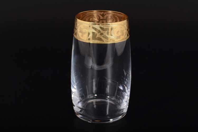 КЛАУДИЯ МАХАРАДЖИ Набор стаканов для воды Bohemia Crystal 380 мл
