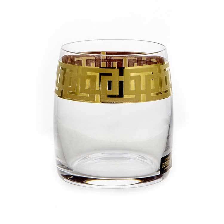 Клаудиа 375651 Набор стаканов для виски Crystalite Bohemia 290 мл