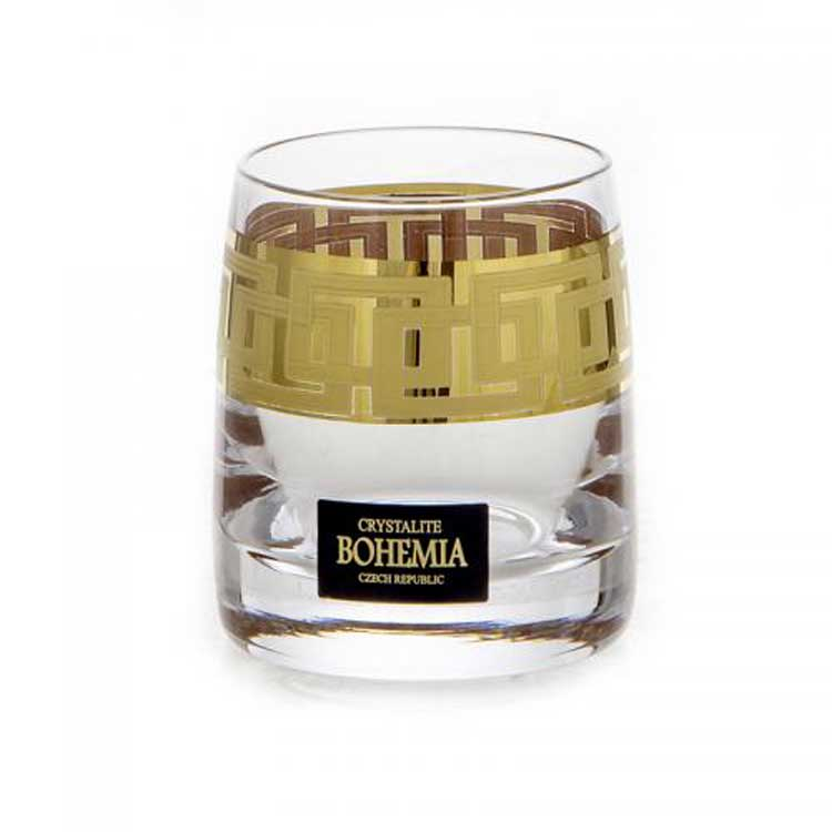 Клаудиа 375651 Набор стопок для водки Crystalite Bohemia 60 мл