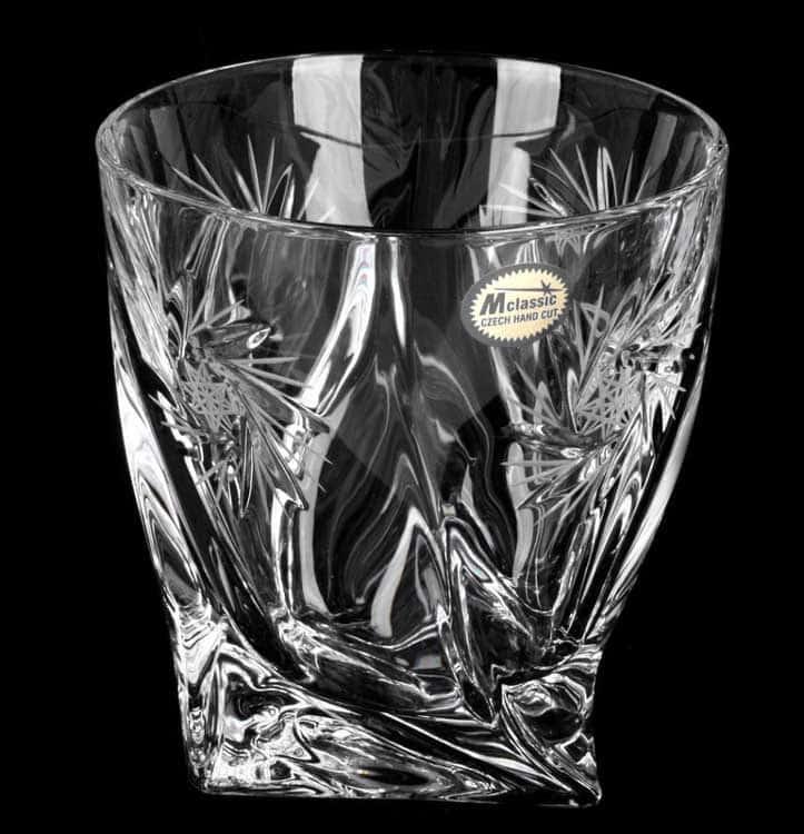 Набор стаканов Хрусталь Квадро прозрачный