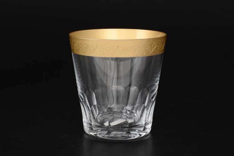 Виктория Золотой узор 430470 Набор стаканов для виски CRYSTALEX  330 мл