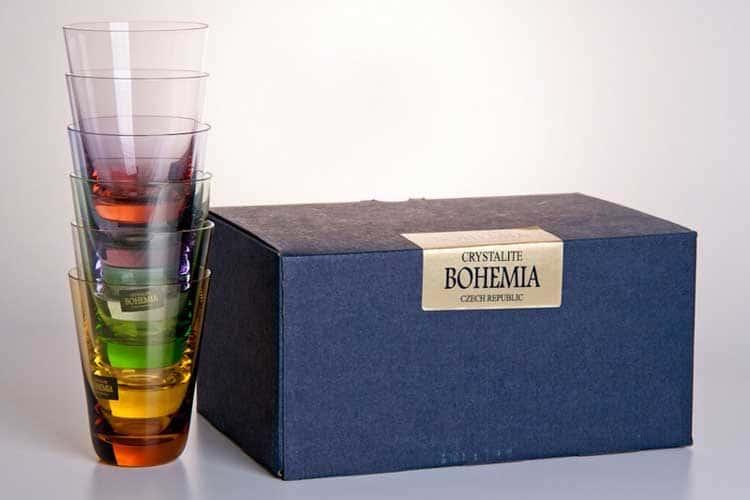 КАЛОРС Набор стаканов Crystalite Bohemia 230 мл
