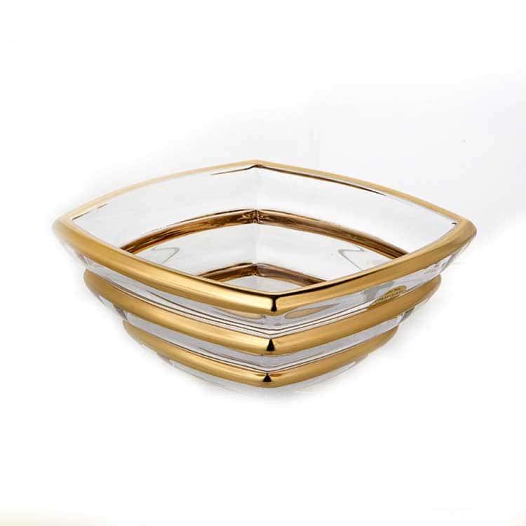 Сегмент Матовая 2 Ваза для фруктов Union Glass 20,5 см.