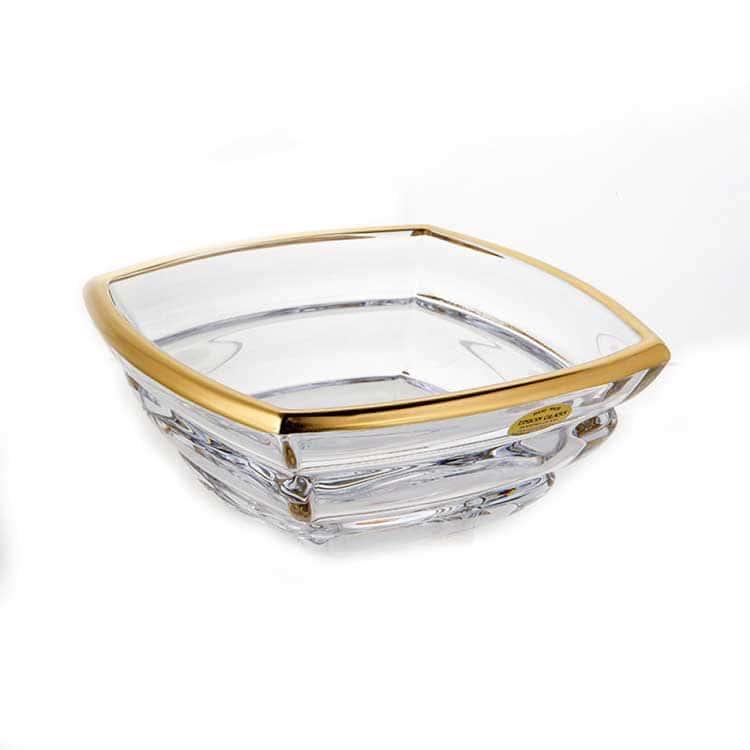 Сегмент Матовая 1 Ваза для фруктов Union Glass 20,5 см.
