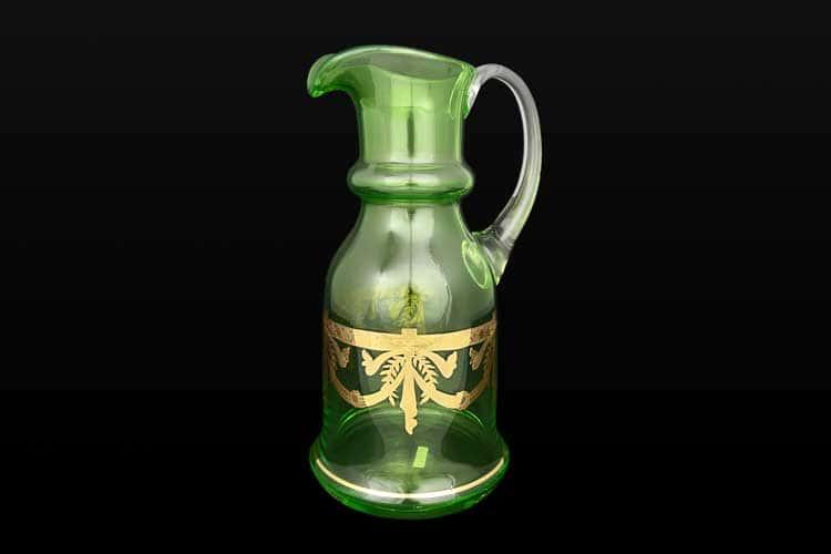 Арлекино V-D Графин Bohemia Crystal 1,5 л зеленый