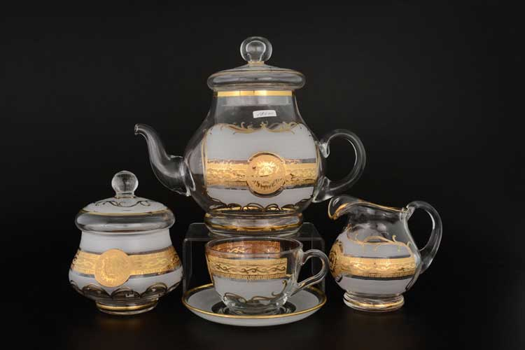 Версаче Лев Чайный сервиз на 6 персон 15 предметов