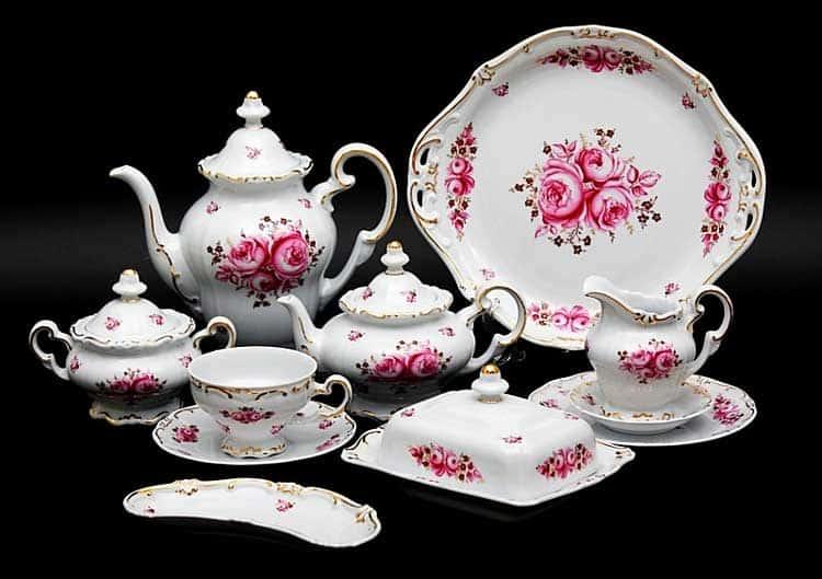 Роза Чайный сервиз Weimar на 6 персон 31 предметов